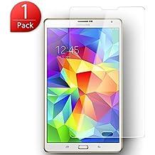 Protector de Pantalla Samsung Galaxy Tab S 8.4 SM-T700, SLEO Vidrio Templado Tempered Glass Screen [Ultra-trasparente] Anti-reflejo Anti-arañazos de 9H Dureza Protector Pantalla para Samsung Galaxy Tab S 8.4 SM-T700