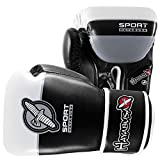 Hayabusa 16oz Sport Mens Boxing Gloves Black