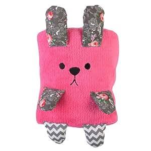 La chaise longue einband aus polyester kinder hase rosa for Geschenktrends shop