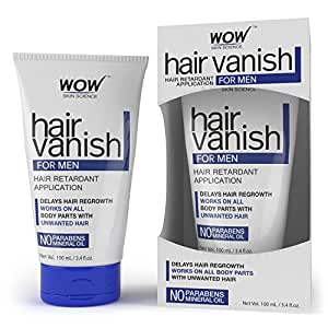 WOW Hair Vanish For Men - No Parabens & Mineral Oil (100ml)