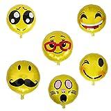 ballonfritz Emoji Partyfotos Luftballon Set 15+2 - für Einzigartige Bilder bei Hochzeit, Party, Geburtstag oder Anderen Anlässen! Test