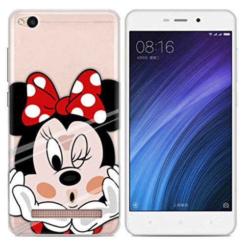 PREVOA Colorful Silicona Funda Cover Case para Xiaomi Redmi 4A Smartphone de 5,0 pulgadas - 19
