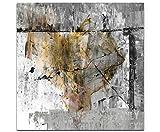 Sinus Art Wir sind die Guten Wandbild auf Leinwand Enigma Serie 60x60cm
