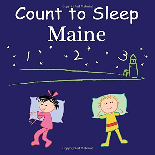 Count To Sleep Maine by Gamble, Adam, Jasper, Mark, Veno, Joe (2014) Board book