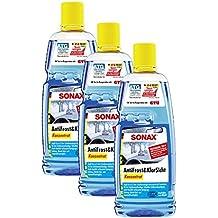 3x Sonax 03323000anticongelante (& Transparente concentrado 1L