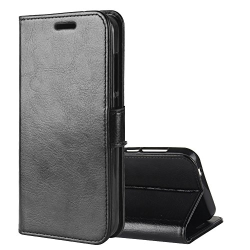 GH-Ghawk Lenovo Z6 Lite Leather Wallet Case, Environmental Protection TPU + PU Leather Case Cover Pouch Case Cover