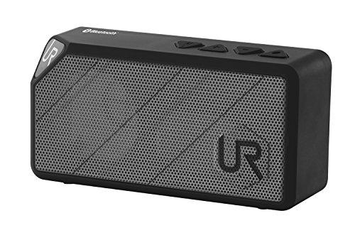 Trust Urban Yzo - Mini altavoz portátil Bluetooth 2.0 (estéreo, alcance hasta 10 metros), gris