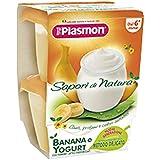 Homogénéisé Sapori Di Natura Banana E Yogurt 120 Gr X 2 Pezzi
