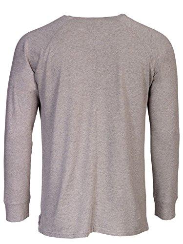 TREVOR'S KNUT Herren Pullover mit Rundhalsausschnitt aus Baumwolle, Viskose und Leinen - soziale fair trade Kleidung, Mode vegan und nachhaltig Color loft, Size S - 2