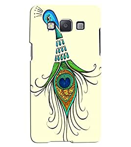 Citydreamz Peacock\Feather Hard Polycarbonate Designer Back Case Cover For Samsung Galaxy J2 Pro