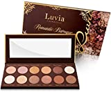 Luvia Lidschatten-Palette - Romantic Baroque Make-Up - Inkl. 12 romantischen Farben der Epochen - Limitierte Geschenkbox zu Weihnachten