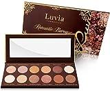 Luvia Lidschatten-Palette - Romantic Baroque Make-Up - Inkl. 12 romantischen Farben der Epochen - Limitierte Geschenkbox zu Weihnachten