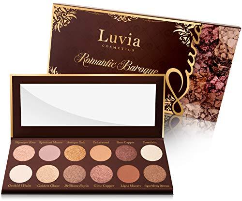 Luvia Lidschatten-Palette - Romantic Baroque Make-Up - Inkl. 12 romantischen Farben der Epochen -...