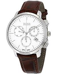 amazon co uk hugo boss watches outlet watches hugo boss mens men s chronograph analog casual quartz watch 1513263