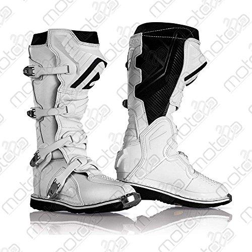 Acerbis 0021596.030.043 Stivali X-Pro V. Boots bianco Taglia 43