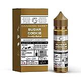 Sugar Cookie E-Liquid (DIY)-überaromatisiert!-Glas Basix-Butterkekse+brauner Zucker, Karamell. etwas Zimt und Muskat-50 ml-70VG/30PG-0mg Nikotin-für E-Zigarette/E-Shisha