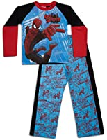 Spiderman Pyjamas Boys Kids Spider-Man Cotton Pyjama Set