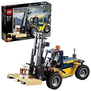 LEGO- Technic Carrello elevatore Heavy Duty, Multicolore, 42079 LEGO