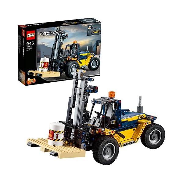 LEGO- Technic Carrello elevatore Heavy Duty, Multicolore, 42079 1 spesavip