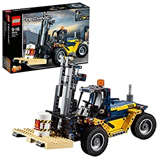 LEGO®-Technic Le chariot élévateur Jeu Garçon et Fille 9 Ans et Plus, Jeu de Construction, 592 Pièces 42079 (B0792QR5QF) | Amazon price tracker / tracking, Amazon price history charts, Amazon price watches, Amazon price drop alerts