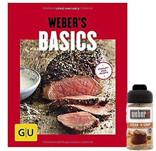 Weber Weber's Basics (GU s Grillen) der Grillspaß für Einsteiger Steak Chop Gewürzmischung 171g -