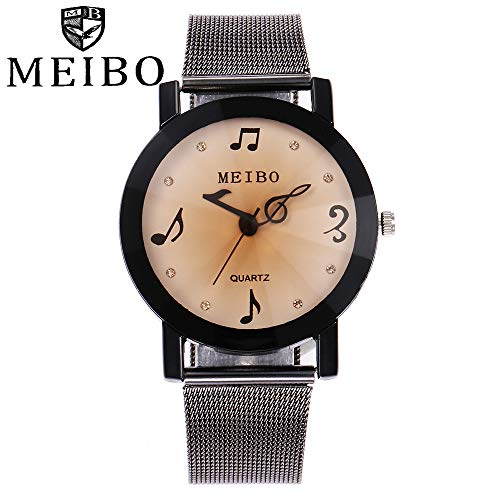 TianWlio Armbanduhren Damen Lässige Quarz Edelstahl Newv Armbanduhr Analoge Armbanduhr