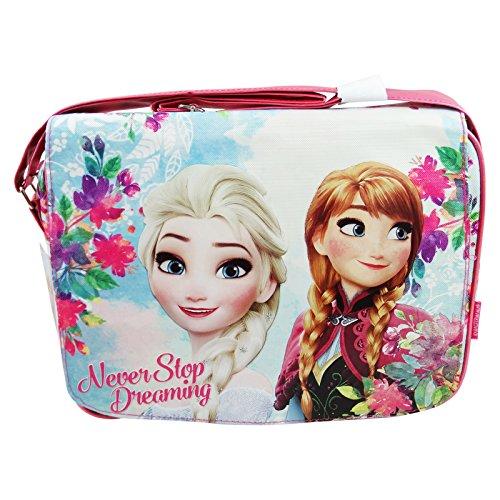 Disney frozen never borsa tracolla cartella a spalla porta pc tablet
