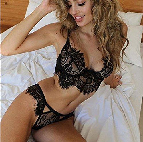 IHRKleid Pyjamas Femmes Lingerie Noir