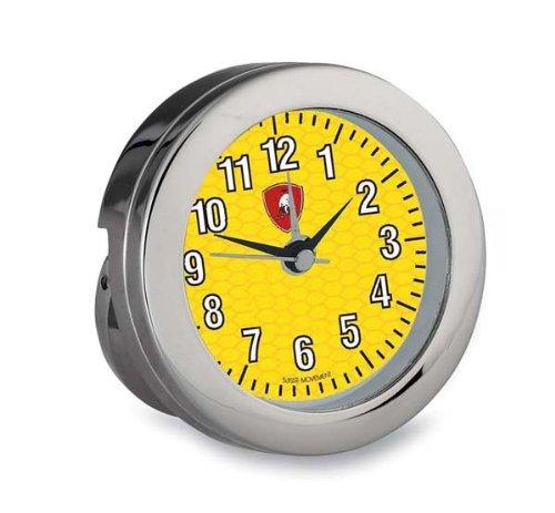 Reloj de Mesa Plateado - Lamborghini Diámetro cm 6
