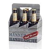 6-Pack ARSCHLECKEN 350, je 2 x Arschlecken,Hopfensprudel,Hopfensmoothie, 5,2% alk in Männerhandtasche,0,33 l Sepp Bumsinger