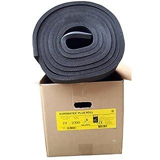 EUROBATEX Plus Roll 19mm Nichtselbstklebend / Karton 6qm / Rolladen- und Fahrzeugdämmung vgl. Armaflex
