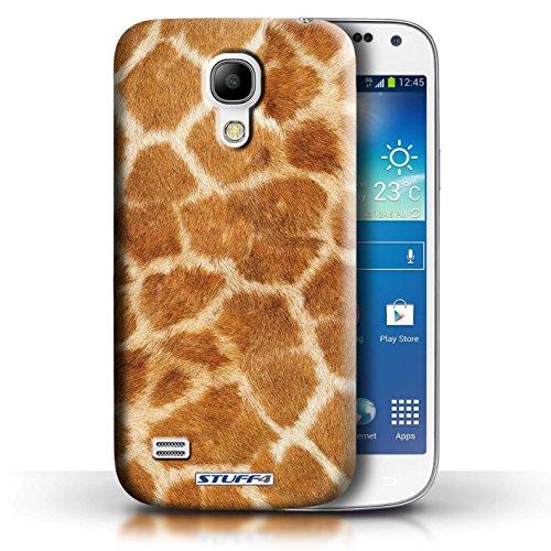 Coque en plastique pour Samsung Galaxy S4 Mini Collection Motif Fourrure Animale - Zèbre Girafe
