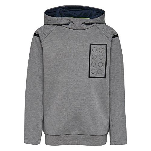 Lego Wear Jungen Sweatshirt Sebastian Grau (Grey Melange 921) 104