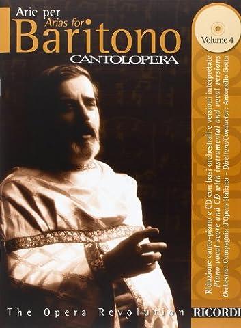 Cantolopera Volume 4 (Arie) +CD - Bar/Po