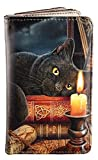 Geldbörse mit schwarzer Hexen Katze   The Witching Hour by Lisa Parker   Gothic Fantasy Geldbeutel Portemonnaie