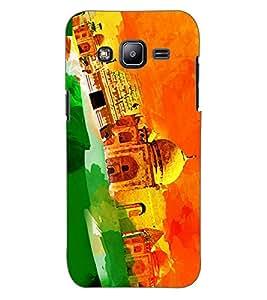 ColourCraft The Taj Design Back Case Cover for SAMSUNG GALAXY J2 DUOS