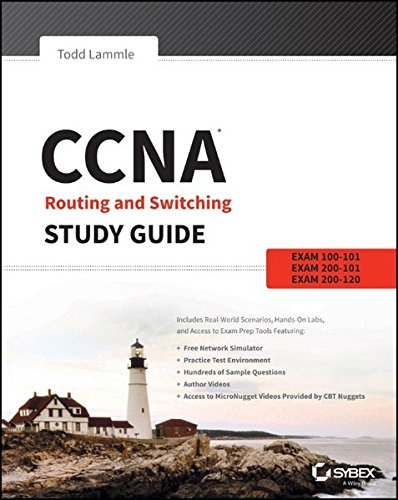 CCNA Routing and Switching Study Guide: Exams 100-101, 200-101, and 200-120 por Todd Lammle