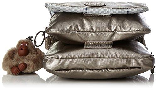 Kipling - Eldorado, Borse a tracolla Donna Oro (Metallic Pewter)