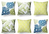 Best Throw Pillows - MODERN HOMES Cotton Floral Design Cushion Covers/Decorative Throw Review