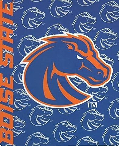 Northwest NOR-1COL031010093RET 50 x 60 in. Boise State Broncos NCAA Light Weight Fleece Blanket, Mark Series by Northwest