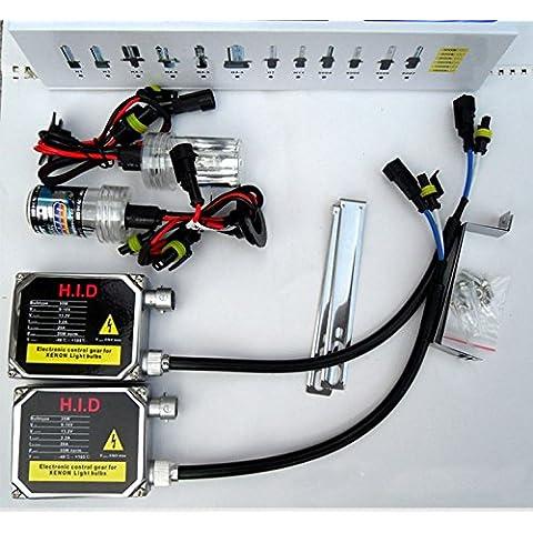 Meijunter 12V 35W Single Beam HID Xenon Light Headlight Lamp Bulbs Ballast Monohaz HID Xenon linterna de la luz de la lámpara de los bulbos del lastre Conversion Kit 880