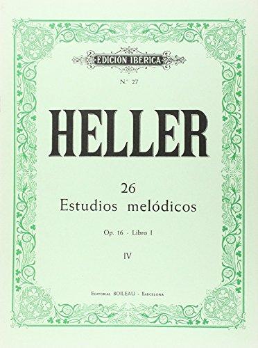 26 Estudios melódicos op. 16
