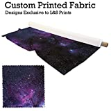 Galaxie Design 10 Digitaldruck gestrickt Jersey bedruckten Stoff 59