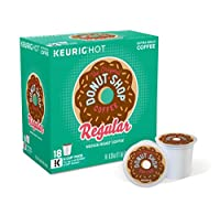 The Original Donut Shop Regular Keurig Single-Serve K-Cup Pods, Medium Roast Coffee, 18 Count - 1 Box