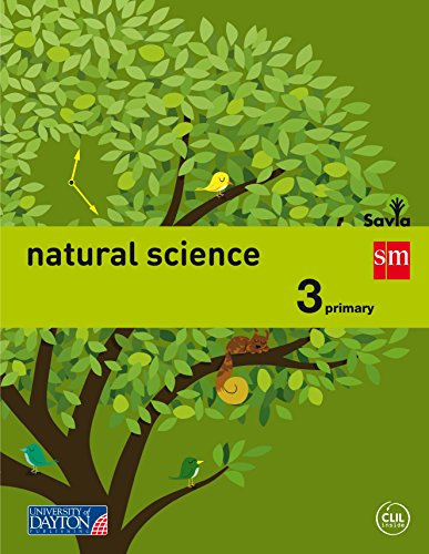 Portada del libro Natural science. 3 Primary. Savia [2015] - 9788415743897