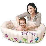 Jilong Tiny Tots 91x61x29 cm Baby-Wanne Kinderwanne Badewanne Planschbecken Kinder Pool mit Wassertemperatur Warnanzeige