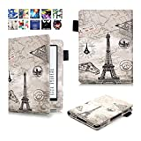 ProElite-Designer-Smart-Flip-case-book-cover-for-Amazon-Kindle-E-Reader-6-8th-Generation-2016-Launch-(Design-Eiffel)-[will-NOT-FIT-Paperwhite]