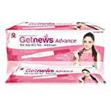 Neclife Getnews Advance One Step Pregnancy Testing Kit Hcg - Midstream (Pack Of 5)