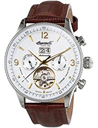 Ingersoll Herren-Armbanduhr Neuschwanstein Castle Chronograph Automatik Leder IN1710WH