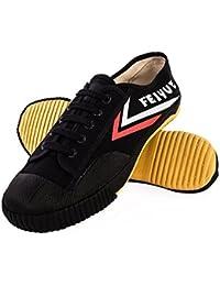 Noir Kung Fu Wushu Chaussures Feiyue/Haut Unique